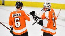 Flyers extend qualifying offers to Carter Hart, Travis Sanheim, Connor Bunnaman, David Kase