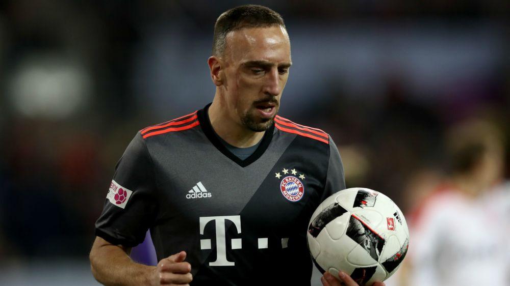 "Bayern, Ribéry : ""Tous les gros clubs voulaient me recruter"""