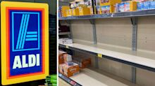 The unexpected product selling out in Aldi during the pandemic