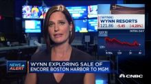 Wynn exploring sale of Encore Boston Harbor to MGM