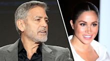 George Clooney defends friend Meghan Markle: 'She's been pursued and vilified'