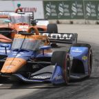 Rosenqvist hospitalized after crash into wall at Belle Isle