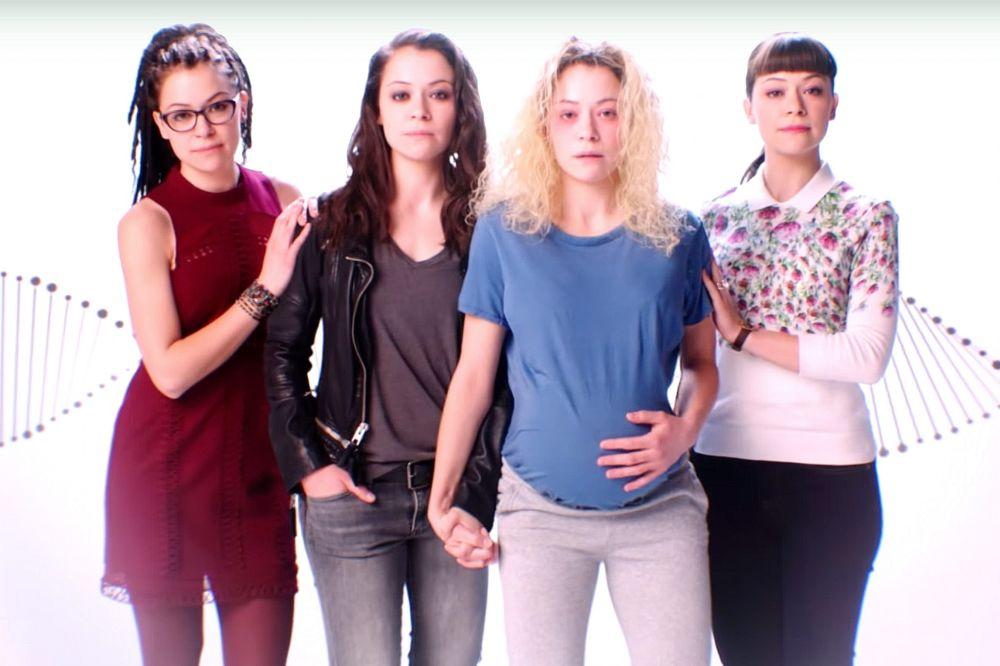 Tatiana Maslany as Cosima, Sarah, Helena, and Alison (Photo: BBC America)