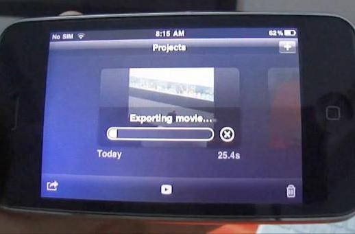 iMovie for iPhone gets a cheeky hack for jailbroken 3GS, runs well-oiled