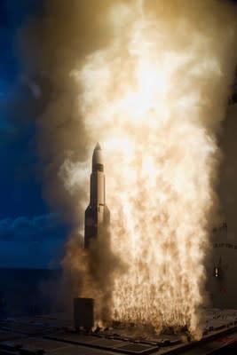 News post image: Raytheon, Aerojet Rocketdyne strike $1 billion strategic sourcing deal for Standard Missile programs