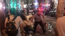 Video of man who 'brutally punched' 2 women on L.A. street corner leads to arrest