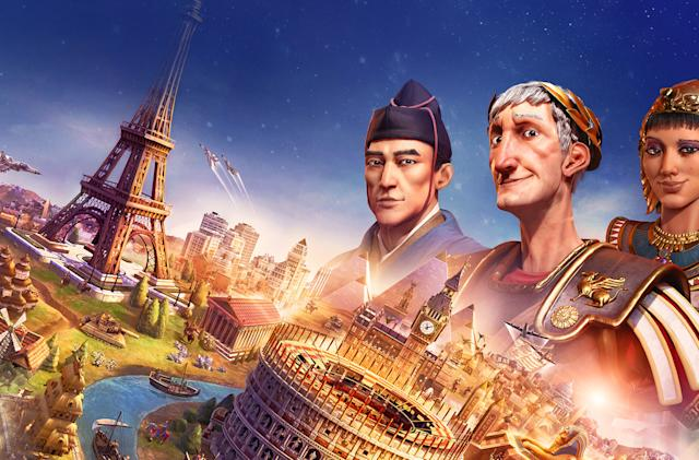'Civilization VI' arrives on the Nintendo Switch November 16th