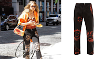 Gigi Hadid steps out in NYC in $420 tie-dye jeans: Shop the look for less