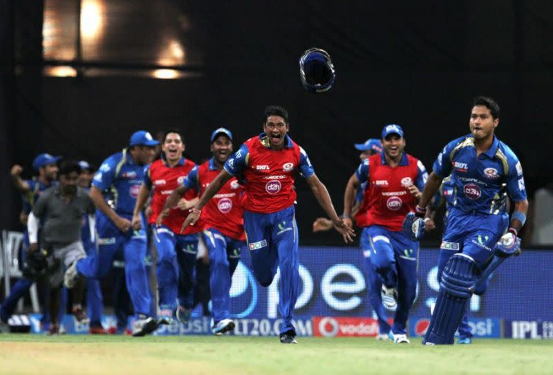 Tare smashed a six to sneak ahead of Rajasthan via net run rate