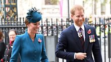 Kate Middleton and Prince Harry team up — minus Meghan and William — for joint royal outing amid reports of a rift