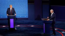 No handshake at start of first Trump-Biden presidential debate in age of coronavirus