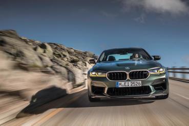 很難想像635匹的BMW M5 CS到底有多驚人