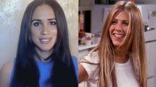 Meghan Markle adopte la coupe dégradée des années 90 de Jennifer Aniston dans « Friends »… Elle n'a jamais eu les cheveux aussi longs