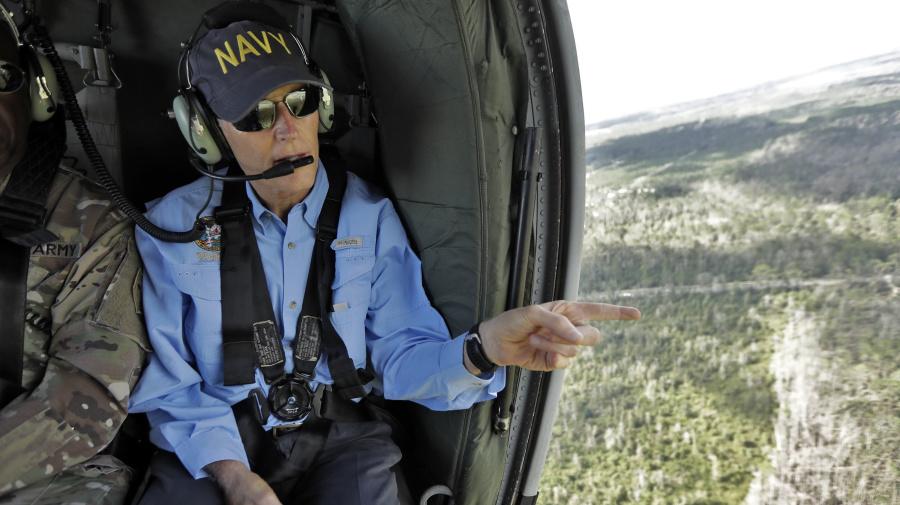 High-profile Senate race reshaped by hurricane