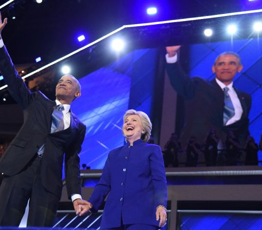 Obama to Clinton before presidential debate: 'Be yourself'
