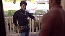 Kevin Hart Dresses Up in The Rock's Meme-Worthy '90s Turtleneck Look for Halloween