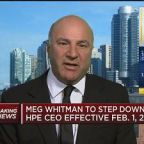 Kevin O'Leary thinks Meg Whitman could run for president, but Whitman says she has no plans to run