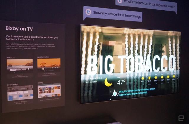 Samsung's 2018 4K TVs add Bixby AI