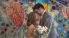 Why This Bride Had Her Wedding Photos Taken in a Children's Hospital