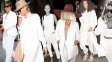 How to Wear Head-to-Toe White Like Beyonce, Kim & Gigi