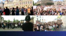 Manifestations féministes contre le nouveau gouvernement: plusieurs milliers de personnes de Paris à Toulouse