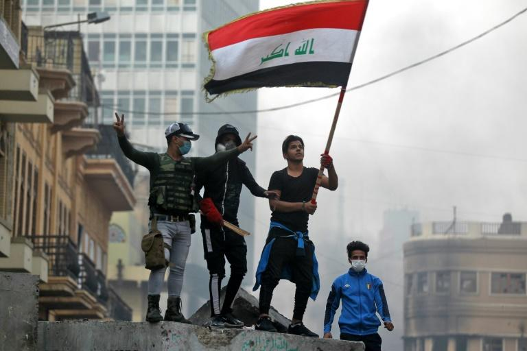A protest movement has been rocking Iraq for two months (AFP Photo/AHMAD AL-RUBAYE)