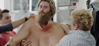 See Chris Hemsworth jiggle around in Thor fat-suit