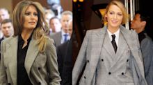 Blake Lively and Melania Trump Wore The Same Ralph Lauren Suit