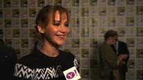 "Why Jennifer Lawrence Loved Working In Water For ""Catching Fire"""
