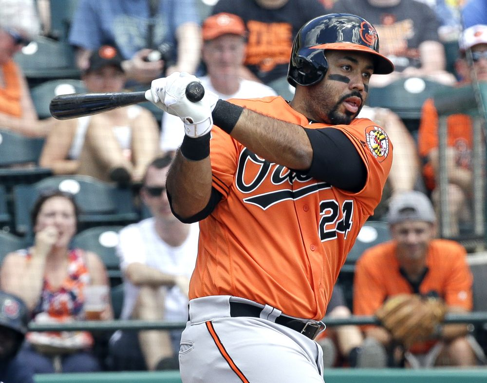 Pedro Alvarez has a chance to prove he belongs after getting promotion from Orioles. (AP)