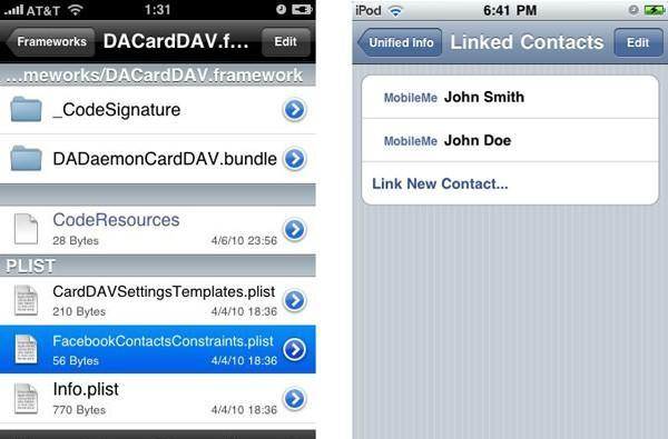 iPhone OS 4 reveals its social side: Facebook integration?