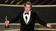 Brad Pitt Calls Out Senate Republicans After Oscar Win