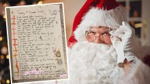 Girl, 9, 'shocks' with epic letter to Santa: 'Fulfil all my requests'