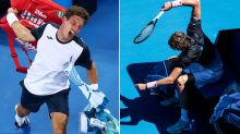 The ugly truth exposed by tennis stars' extraordinary tantrums