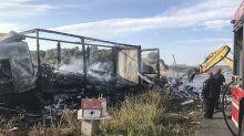 Zehn Migranten und Schleuser in Griechenland verbrannt