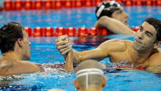 Phelps-Lochte, Round 3! Who wins the 200m IM final?