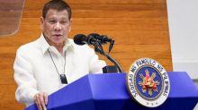 Rodrigo Duterte: 'I'm not joking - clean masks with petrol'