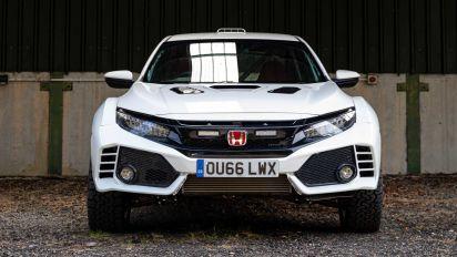 Honda Civic Type R OveRland, el coche de rallyes que quieres