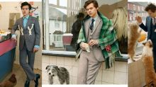 Harry Styles And Gucci's Suit Campaign Is Sharp
