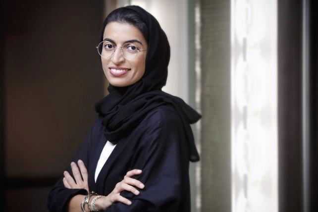 Nura bint Mohamed al-Kaabi, who was appointed as a new minister to the United Arab Emirates' Federal National Council (AFP Photo/)