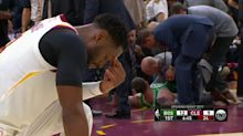 NBA community sends support to Gordon Hayward following serious leg injury