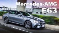 強悍四門猛獸 沸騰血液!Mercedes-AMG E63 4Matic+