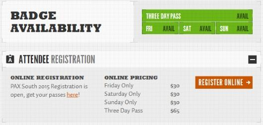 PAX South tickets go on sale