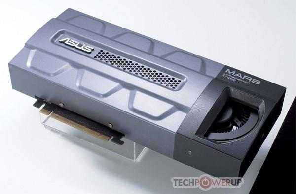 ASUS Mars GPU weds twin GeForce GTX 285s, might just melt your face