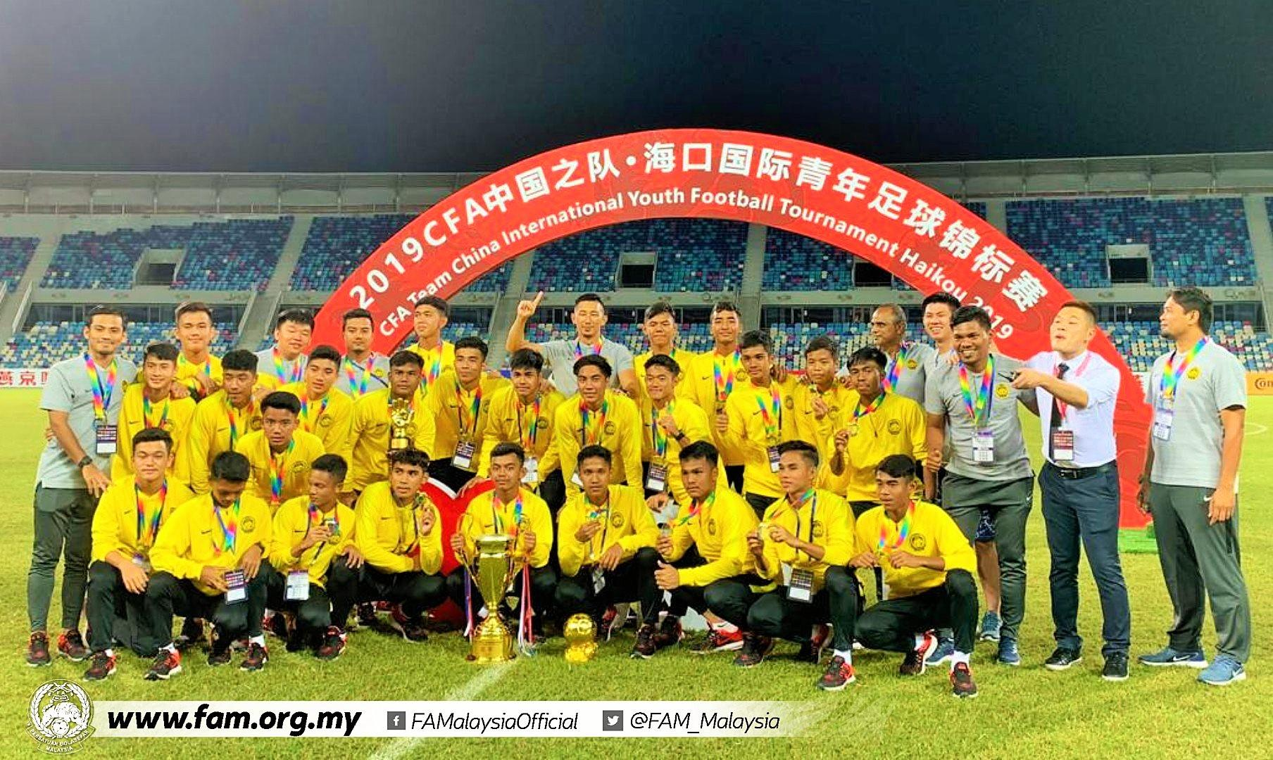 Super Malaysia Win CFA Team China International Youth Tournament