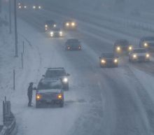 One person dies in a crash as winter snowstorm slams Midwest before sweeping East