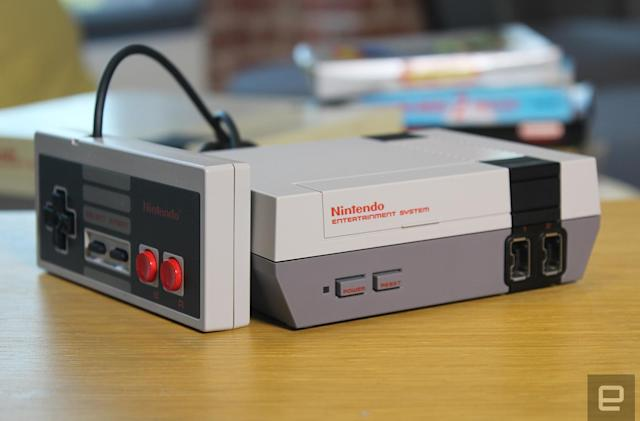 Nintendo's NES Classic Edition is coming back in 2018