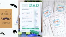 Print One of These Adorable FREE Father's Day Cards for Dad