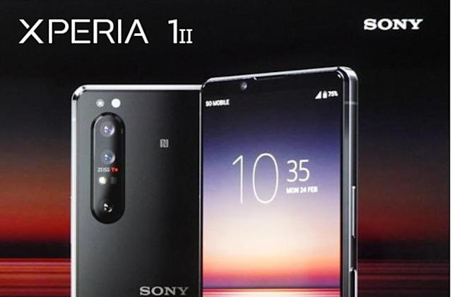 Sony's first 5G phone may be a souped-up Xperia 1
