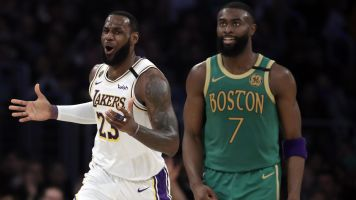 The Lakers-Celtics rivalry may be back